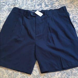 New Bobby Jones Players golf shorts 42 navy
